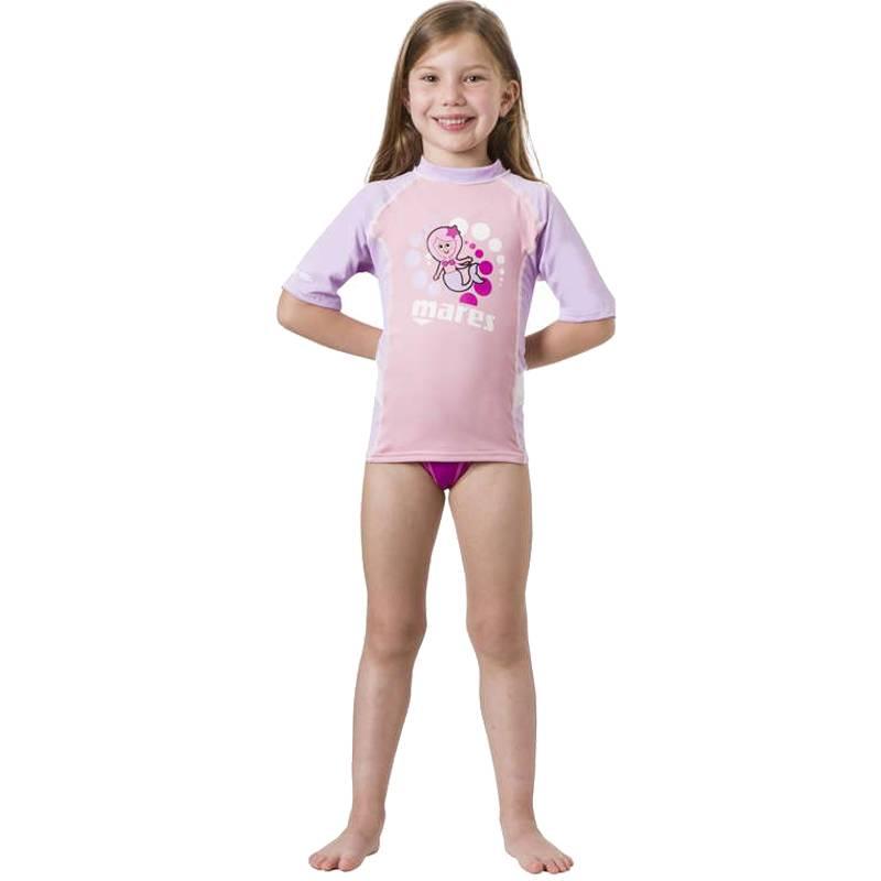 Rash Guard Kid S/s Girl