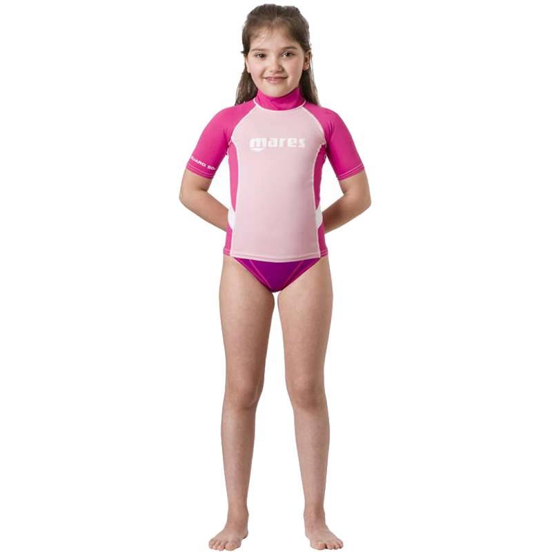 Rash Guard S/s Junior Girl