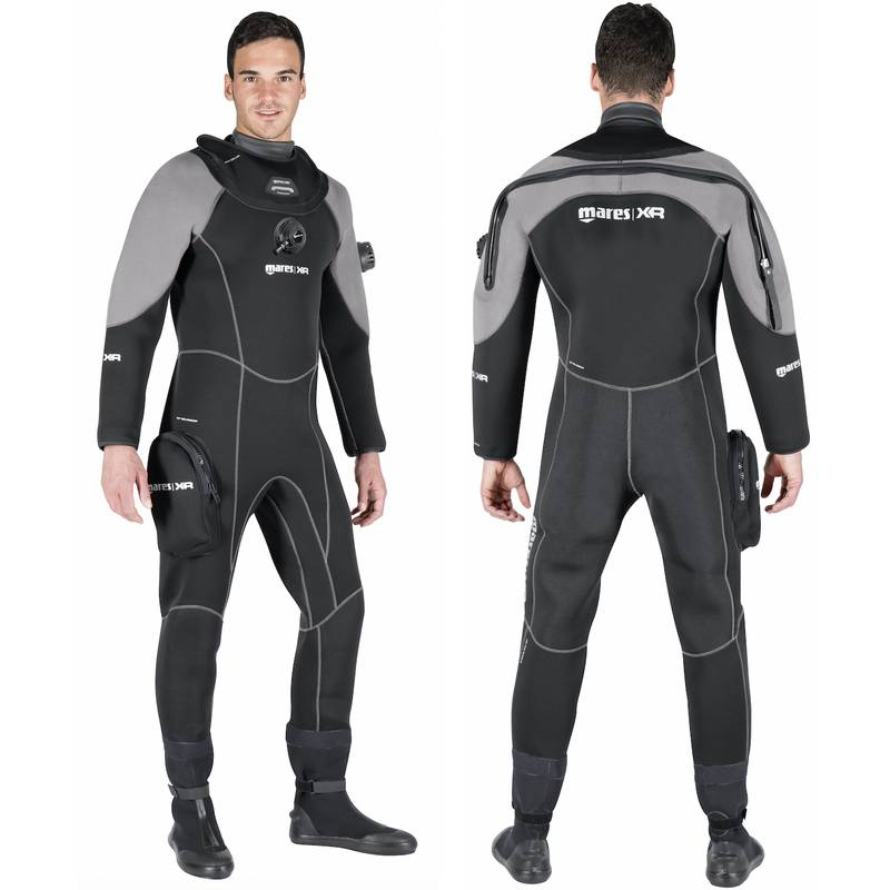 Traje Seco Xr3 Neoprene Latex Dry Suit -