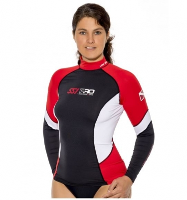 Rash Guard L/s Ssi Lady