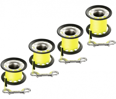 Cave/finger Ss316 Coated Spool - Xr Line