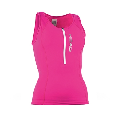 Head Tri Top Zip- Lady