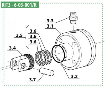 3rd Stage Cylinder Kit