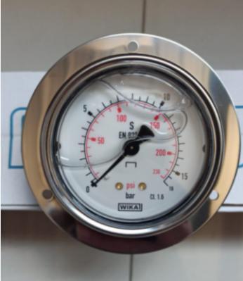 Flanged Pressure Gauge 0-16 Bar/psi