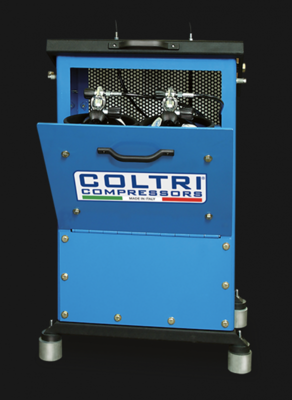 Double Position Cylinder Fill Enclosure