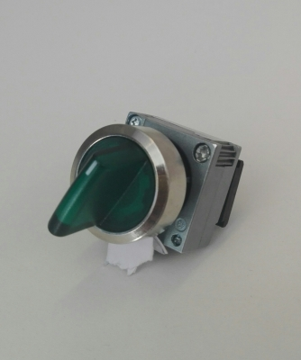 Selettore Luminoso 0-1 Verde